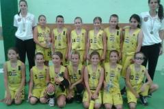 U11 lány csapat
